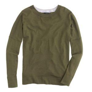 J. Crew Petite Slouchy Merino Tunic Sweater